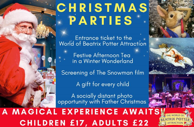 Christmas Parties World of Beatrix Potter Attraction